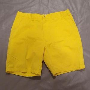 Polo by Ralph Lauren yellow prospect shorts 38x9